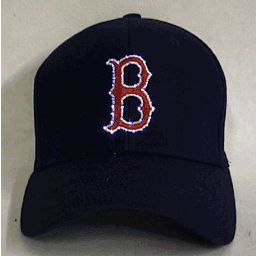 Boston RED SOX Flashing Fiber Optic Cap
