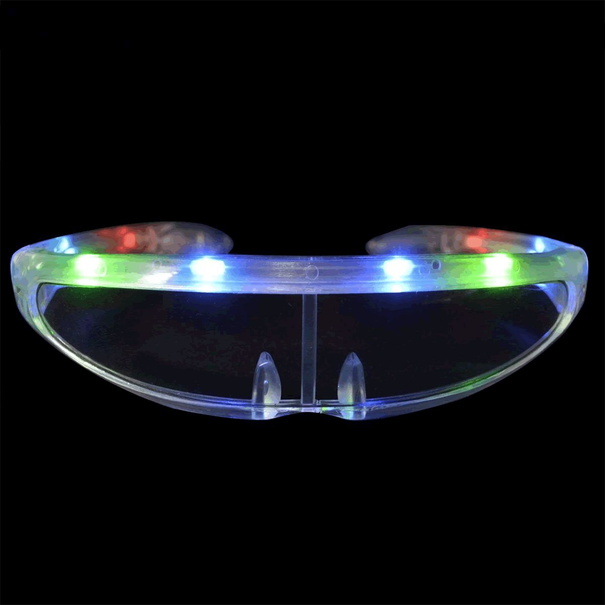 Futuristic LED SUNGLASSES Multicolor by Blinkee