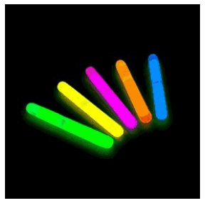 GLOW STICKs Mini Assorted Pack of Fifty by Blinkee