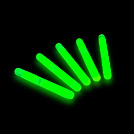 GLOW STICKs Mini Green Pack of Fifty by Blinkee