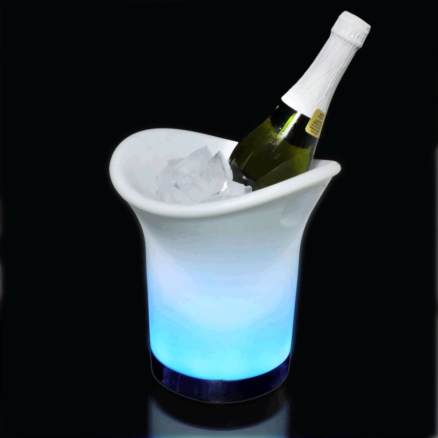 LED Champagne WINE Ice BUCKET by Blinkee