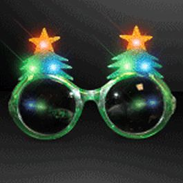 LED Christmas Tree Glasses Christmas Gift by Blinkee