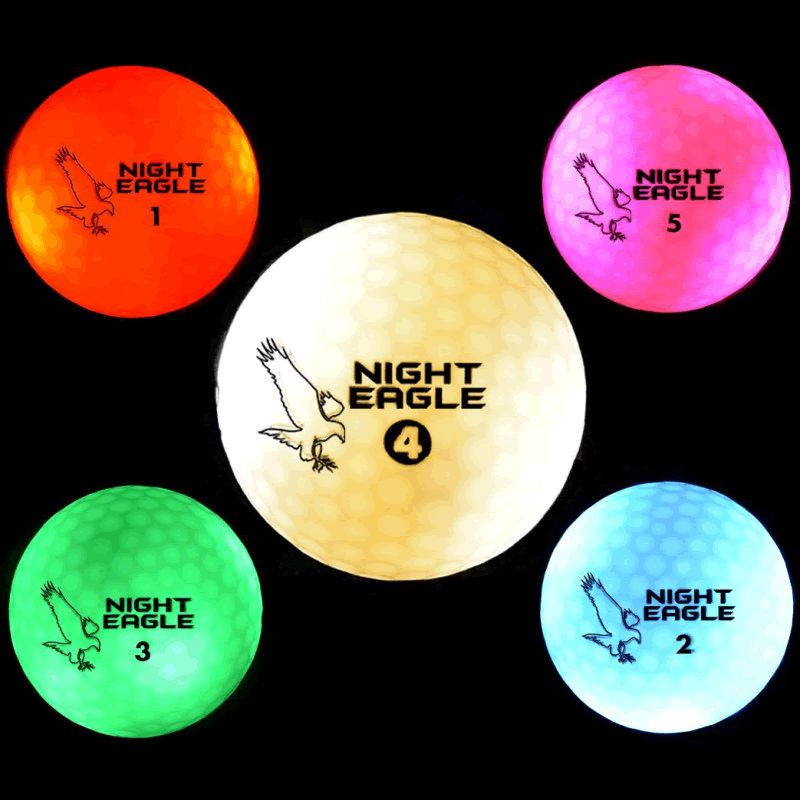 LED Golf Ball Pink by Blinkee