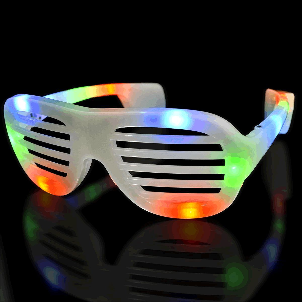 LED Hip Hop SUNGLASSES Multicolor by Blinkee