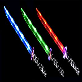 LED NINJA SWORD Assorted Colors