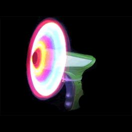 LED Spinning Pinwheel Gun by Blinkee