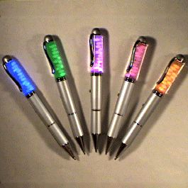 Light Up Floating Pebble Pens Assorted by Blinkee