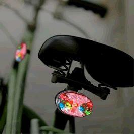 Multicolor LED Bike Light by Blinkee