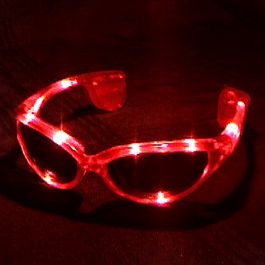 Red LED SUNGLASSES by Blinkee
