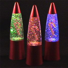 Rocket LAMP Candy Cane