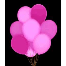 LED BALLOONs Five Pack Pink | Blinkee
