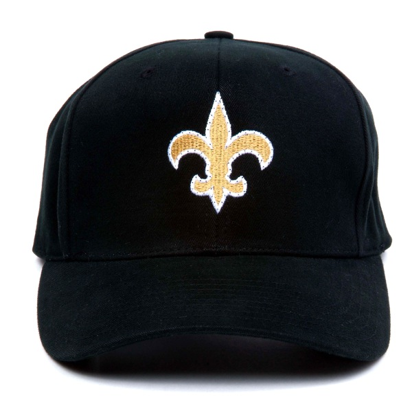 New Orleans SAINTS Flashing Fiber Optic Cap | Rainbow | Blinkee