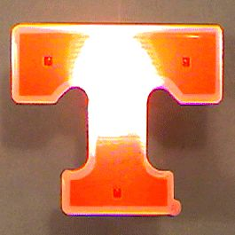 Tennessee University Officially LICENSED Flashing Lapel Pin | Rainbow | Blinkee