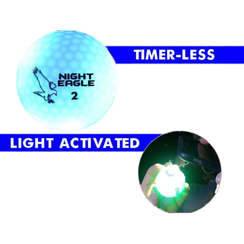 LED Golf Ball Blue   Blinkee