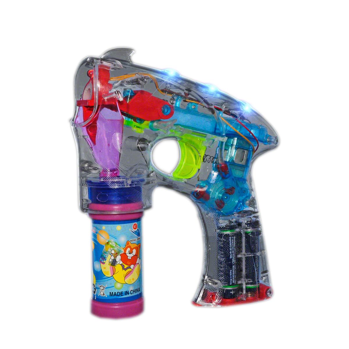Lighted Bubble Gun | Rainbow | Blinkee