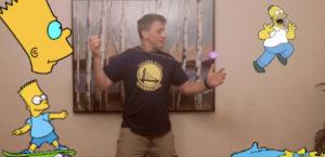 "Magic Matt Performs ""Kwyjibo"" on a Light Up Aurora by Magic YoYo"