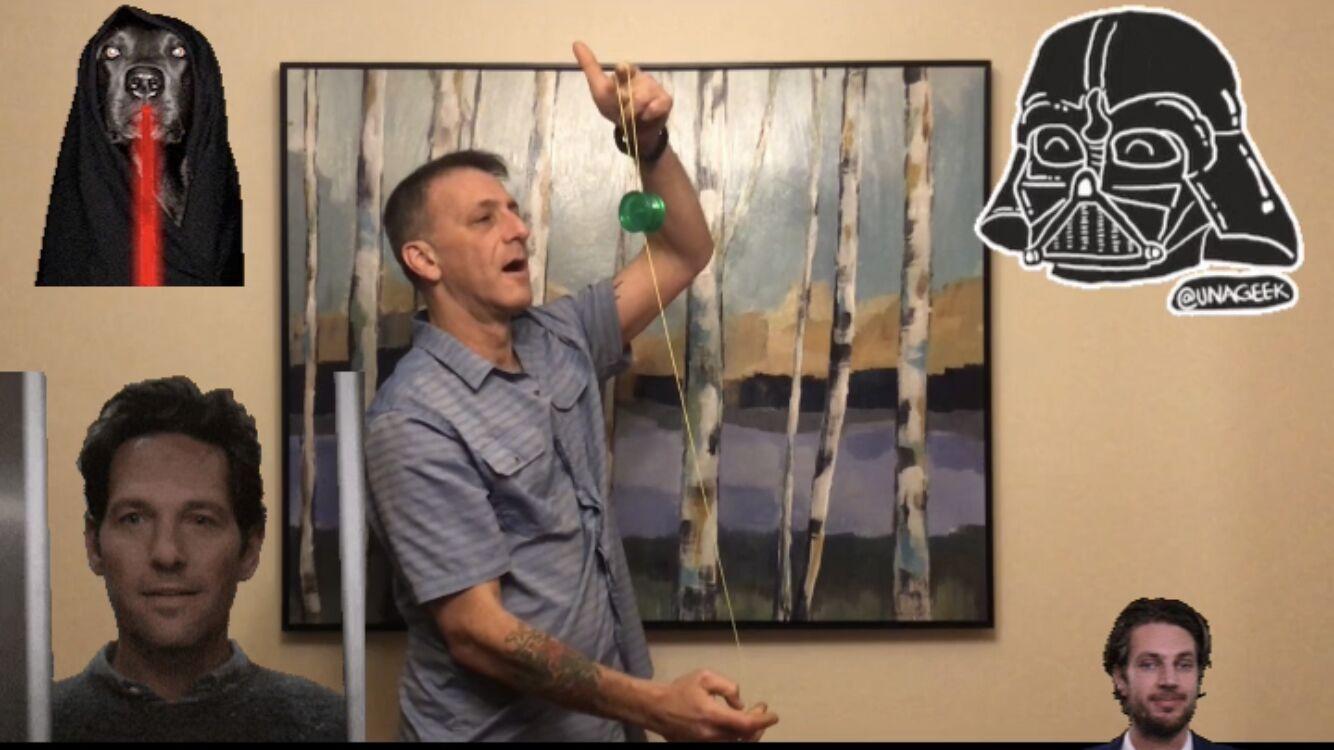 "Magic Matt Performs ""The Elevator"" on a Duncan Butterfly YoYo"