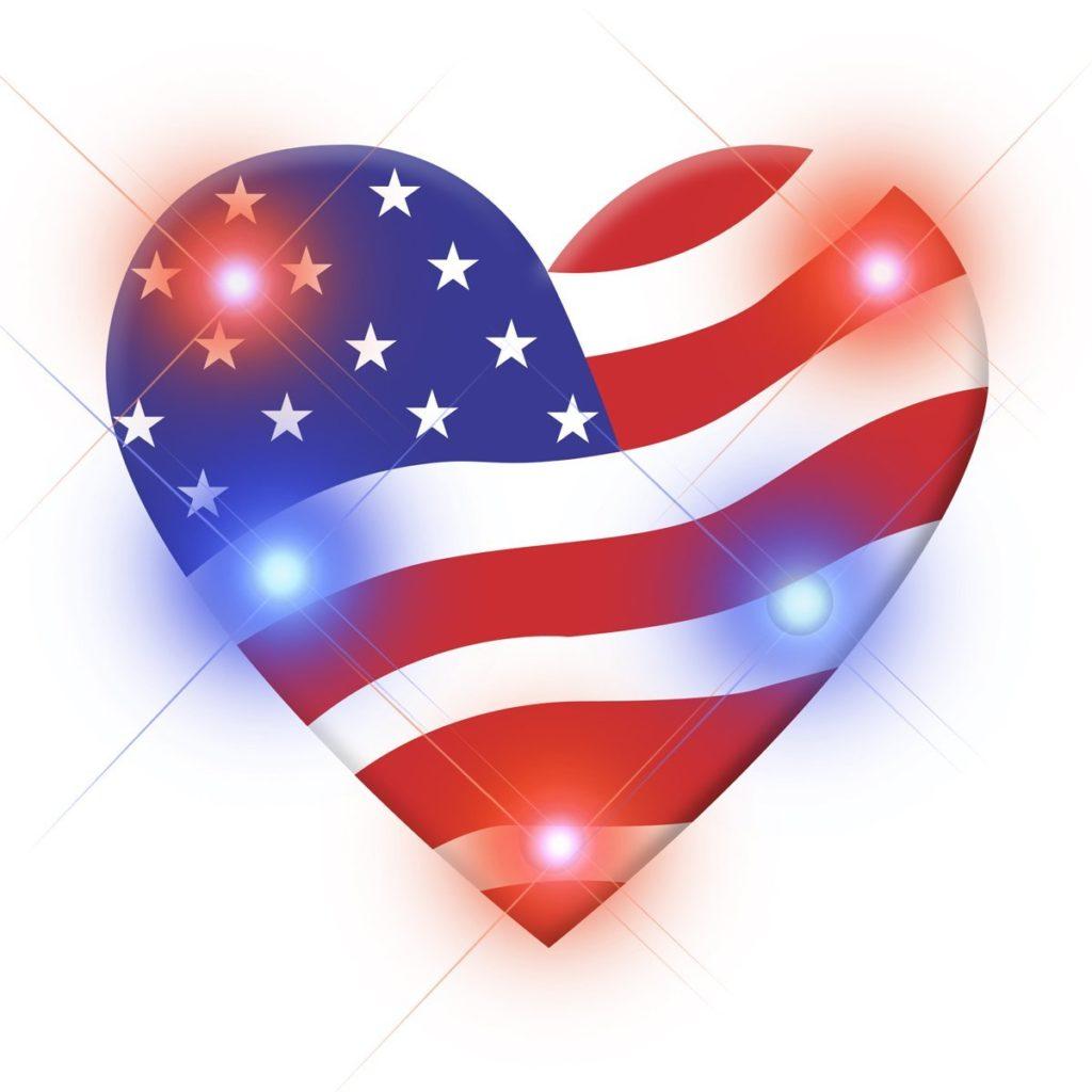 Sparkling Patriotic Pins