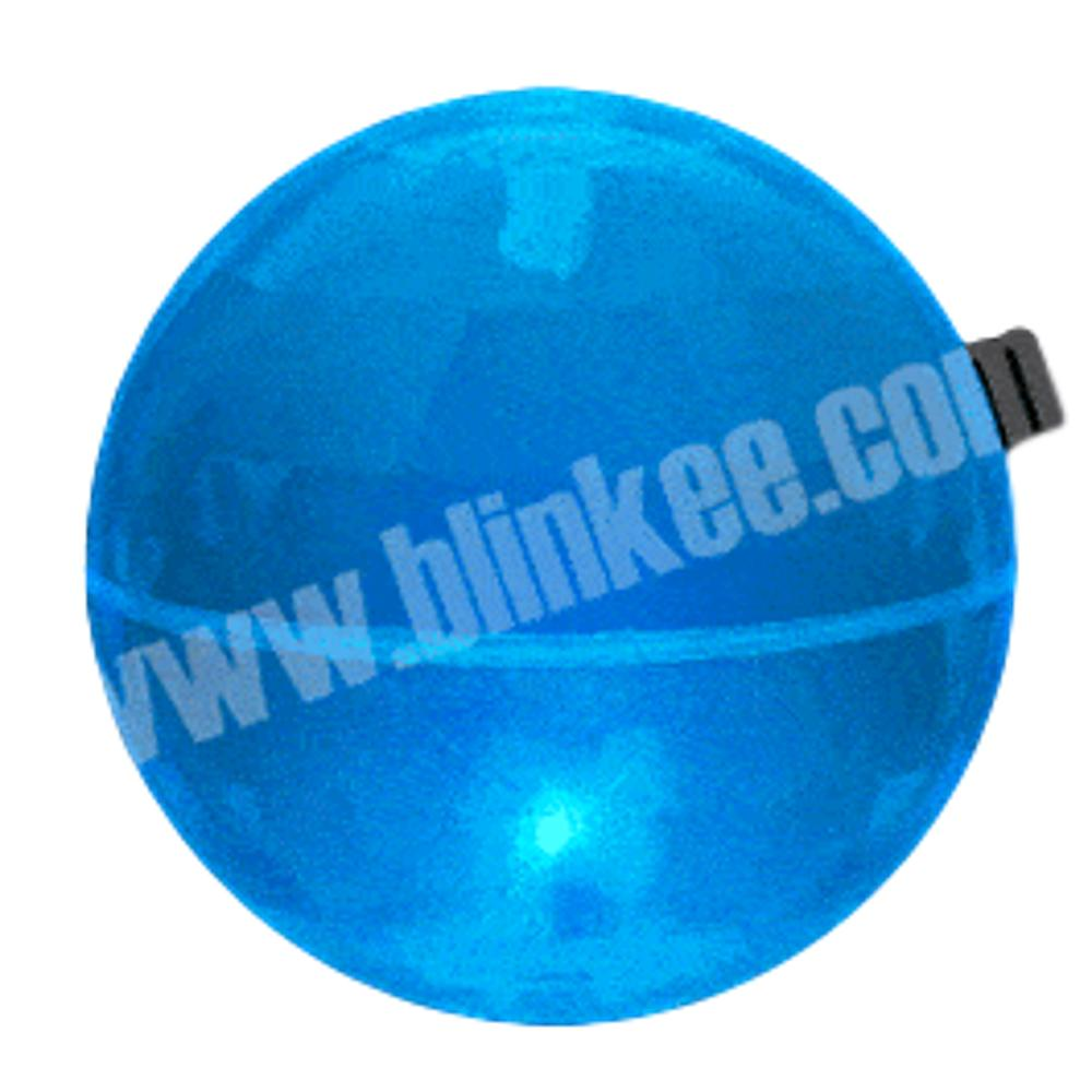 3 Inch LED Super Bounce Ball Blue All Products