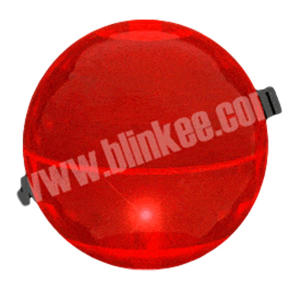 4 Inch LED Super Bounce Ball Red All Products