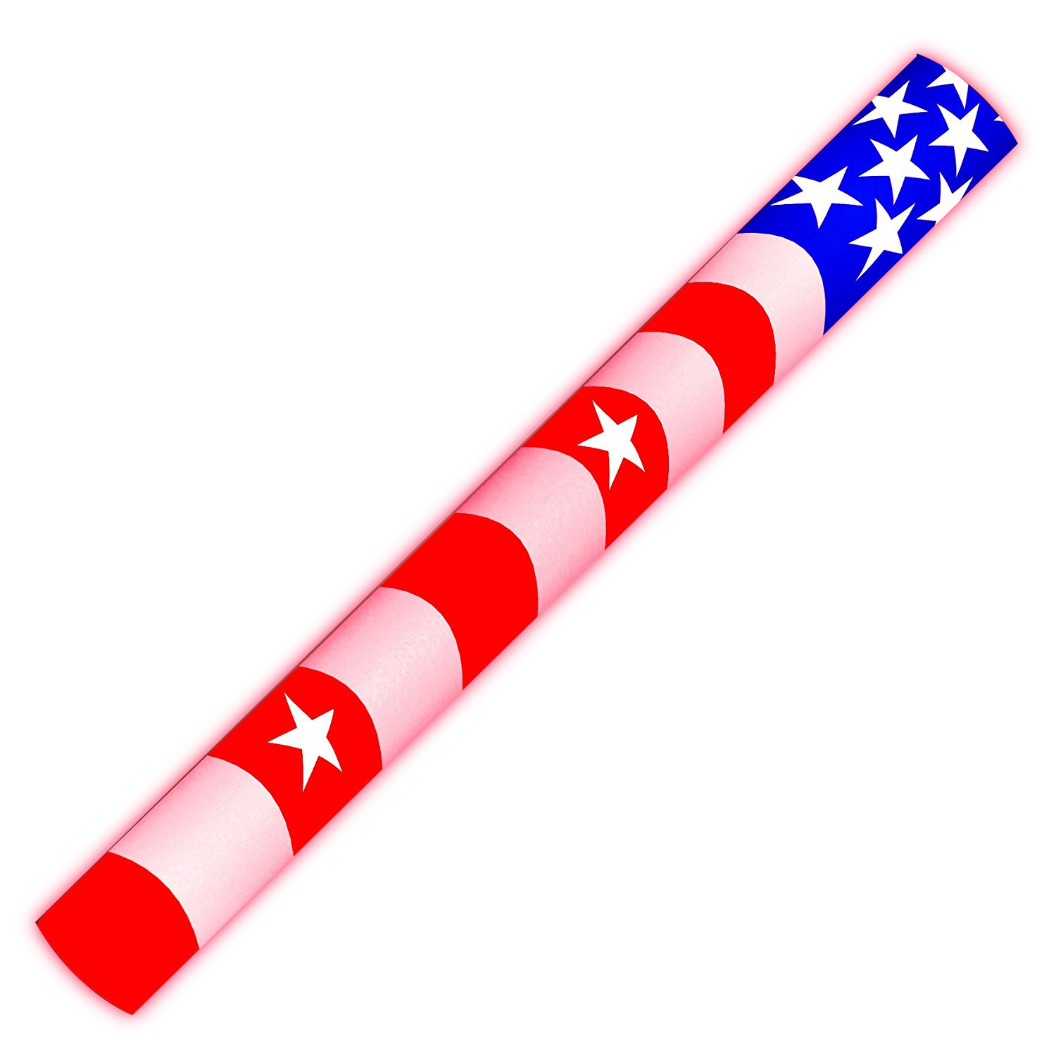 7 Color Foam Cheer Stick USA Flag 4th of July