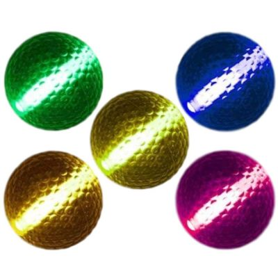 1 Unit Glow Stick Golf Ball Assorted Colors All Products