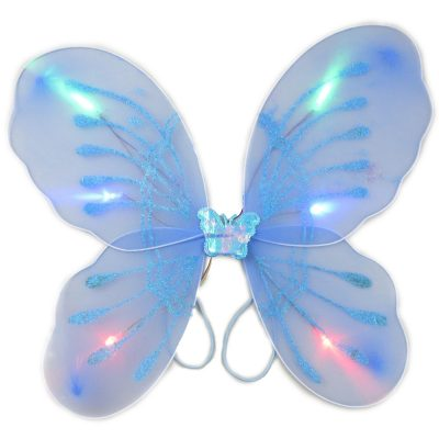 Light Up Aqua Fairy Butterfly Wings Aqua