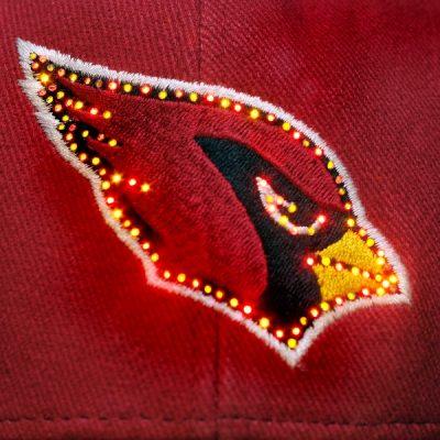 Arizona Cardinals Flashing Fiber Optic Cap All Products