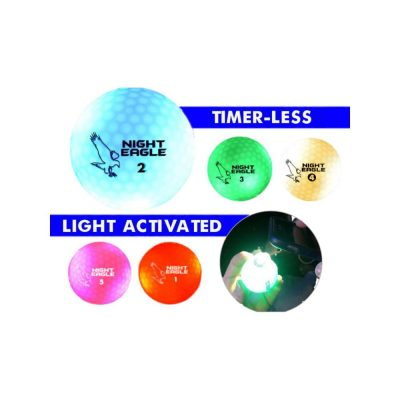 LED Golf Ball Assorted Colors Golf