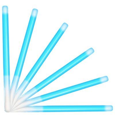 10 Inch Glow Stick Baton Blue Pack of 25 All Products