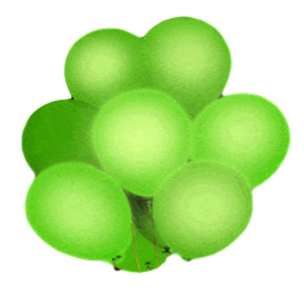 LED Balloons Five Pack Green All Products