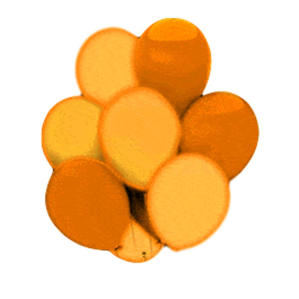 LED Balloons Five Pack Orange All Products