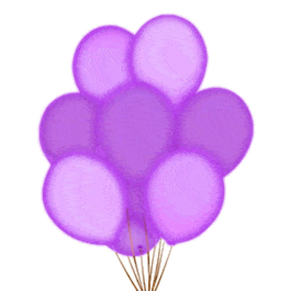 LED Balloons Five Pack Purple All Products