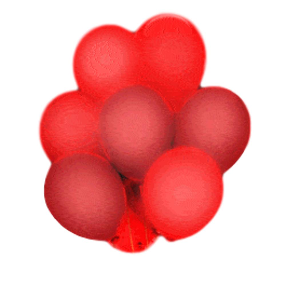 LED Balloons Five Pack Red All Products