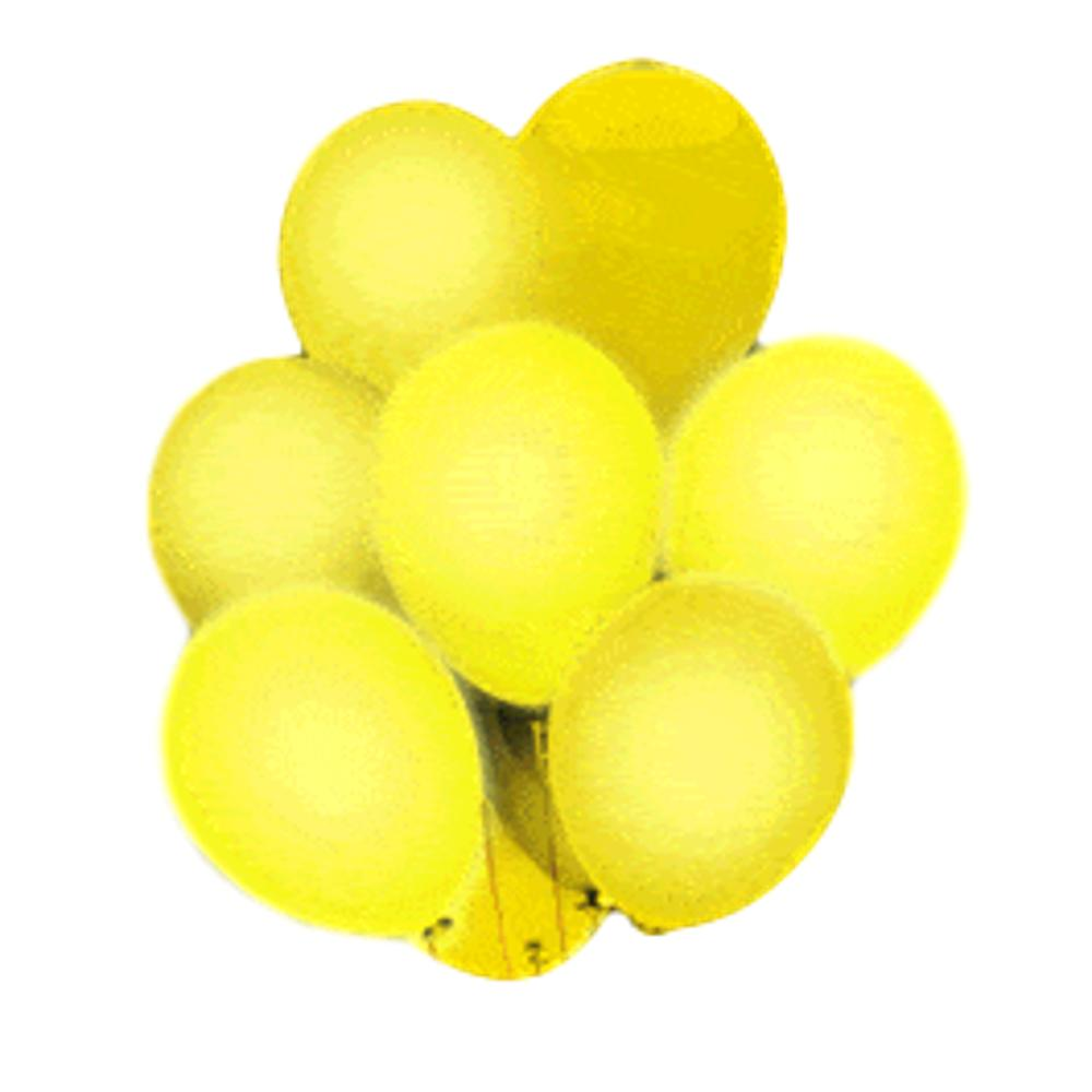 LED Balloons Five Pack Yellow All Products