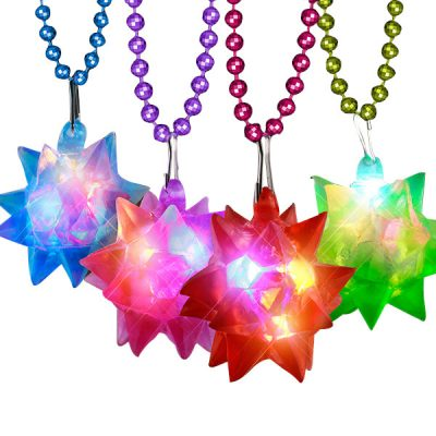 Beaded Crystal Star Necklace All Products