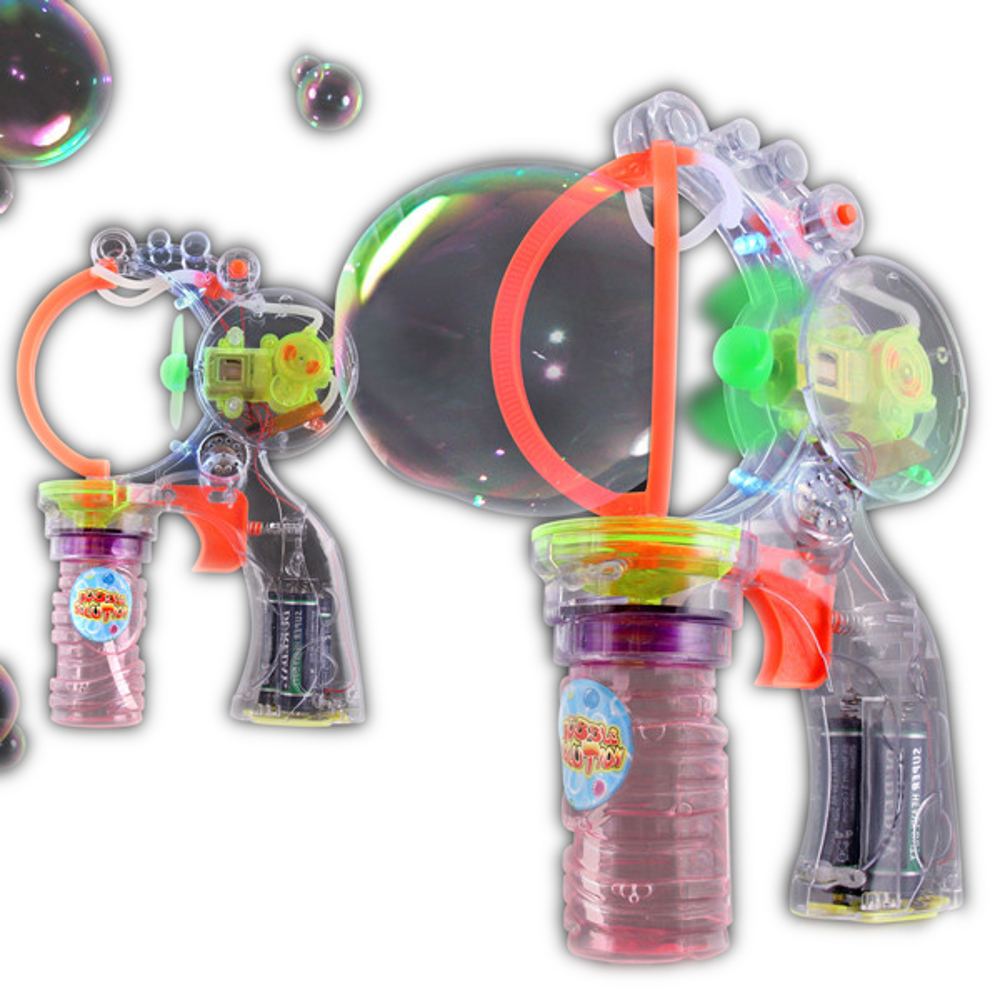 Big and Little Bubble Making Gun with Music All Products