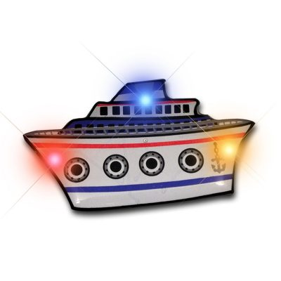 Cruise Ship Flashing Body Light Lapel Pins All Body Lights and Blinkees
