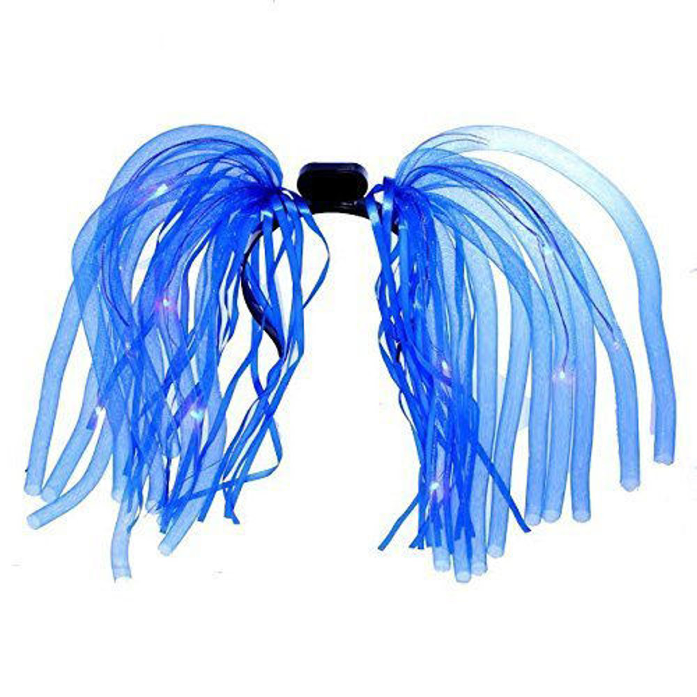 Blue LED Noodle Headband Flashing Dreads All Products