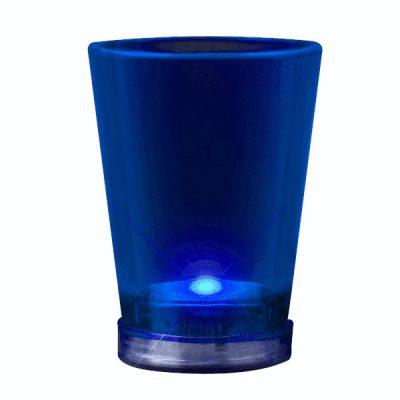 Light Up Shot Glass Blue Blue