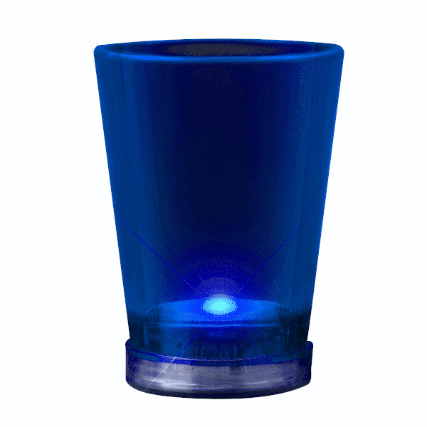 Light Up Shot Glass Blue All Products