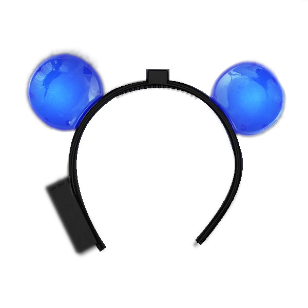 LED Mouse Ears Blue All Products