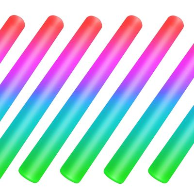 Case of 360 Foam Cheer Stick with Multicolored Lights All Products
