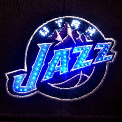 Utah Jazz Flashing Fiber Optic Cap All Products
