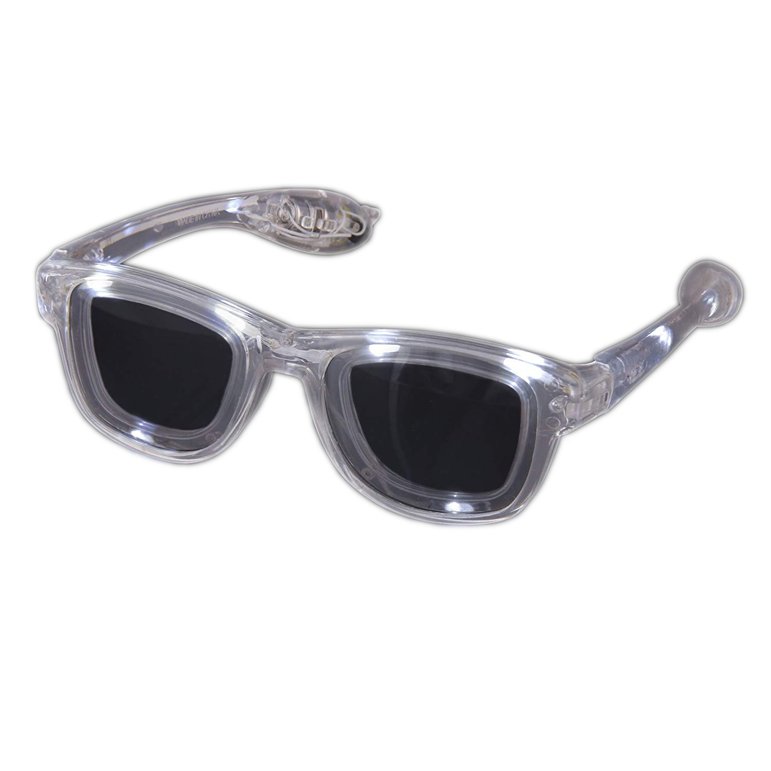 White LED Nerd Glasses All Products