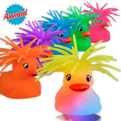 Flashing Crazy Hair Puffer Duck All Products