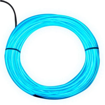 Electro Luminescent Wire 20 Foot Aqua All Products