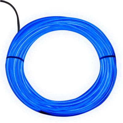 Electro Luminescent Wire 12 Foot Blue All Products
