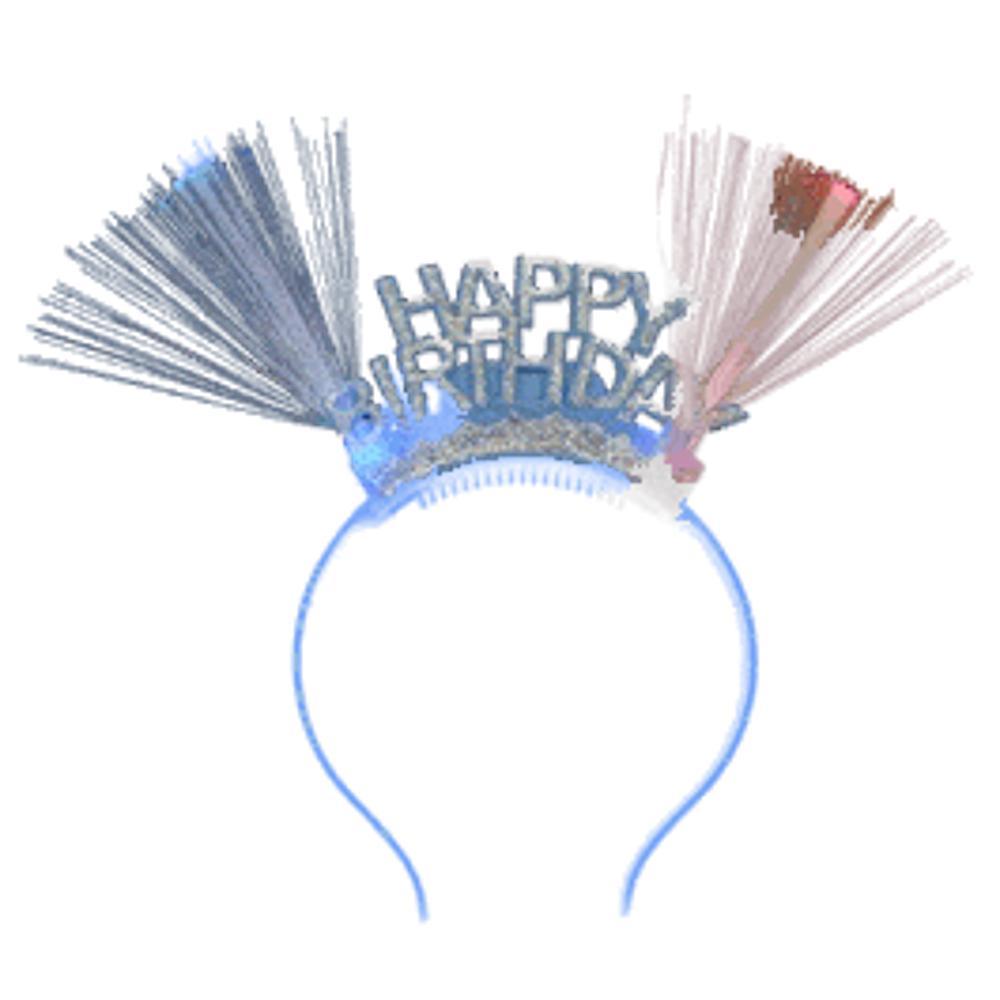 Fiber Optic Happy Birthday Headband All Products