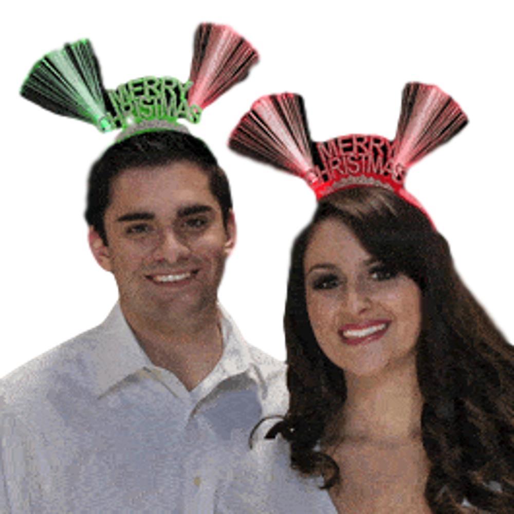 Fiber Optic Merry Christmas Headband All Products